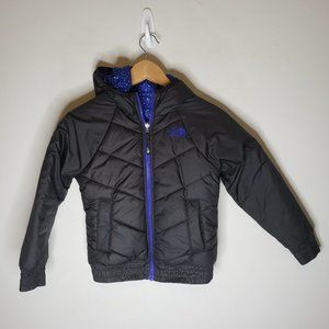 North Face Girls Reversible Puffer Jacket